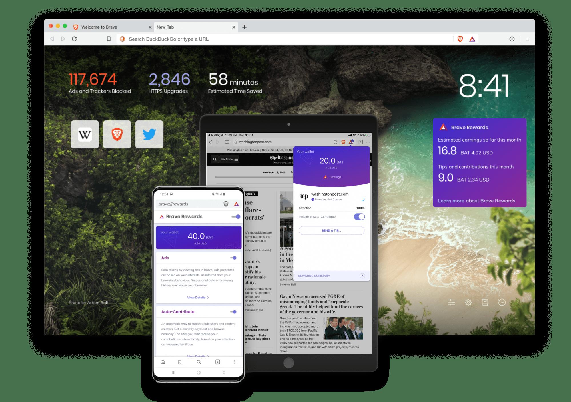 Brave 1.0 - браузер следующего поколения
